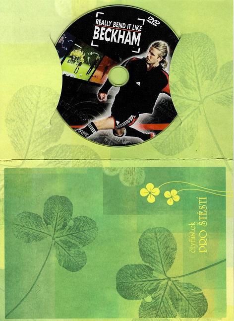Really Bend it like BECKAM / Fotbalová škola Davida Beckhama ( dárkový obal ) DVD