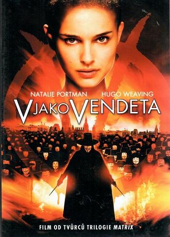 V jako Vendeta  - plast DVD