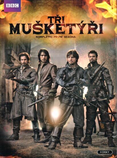 Tři mušketýři - Kompletní I. sezóna (4DVD)
