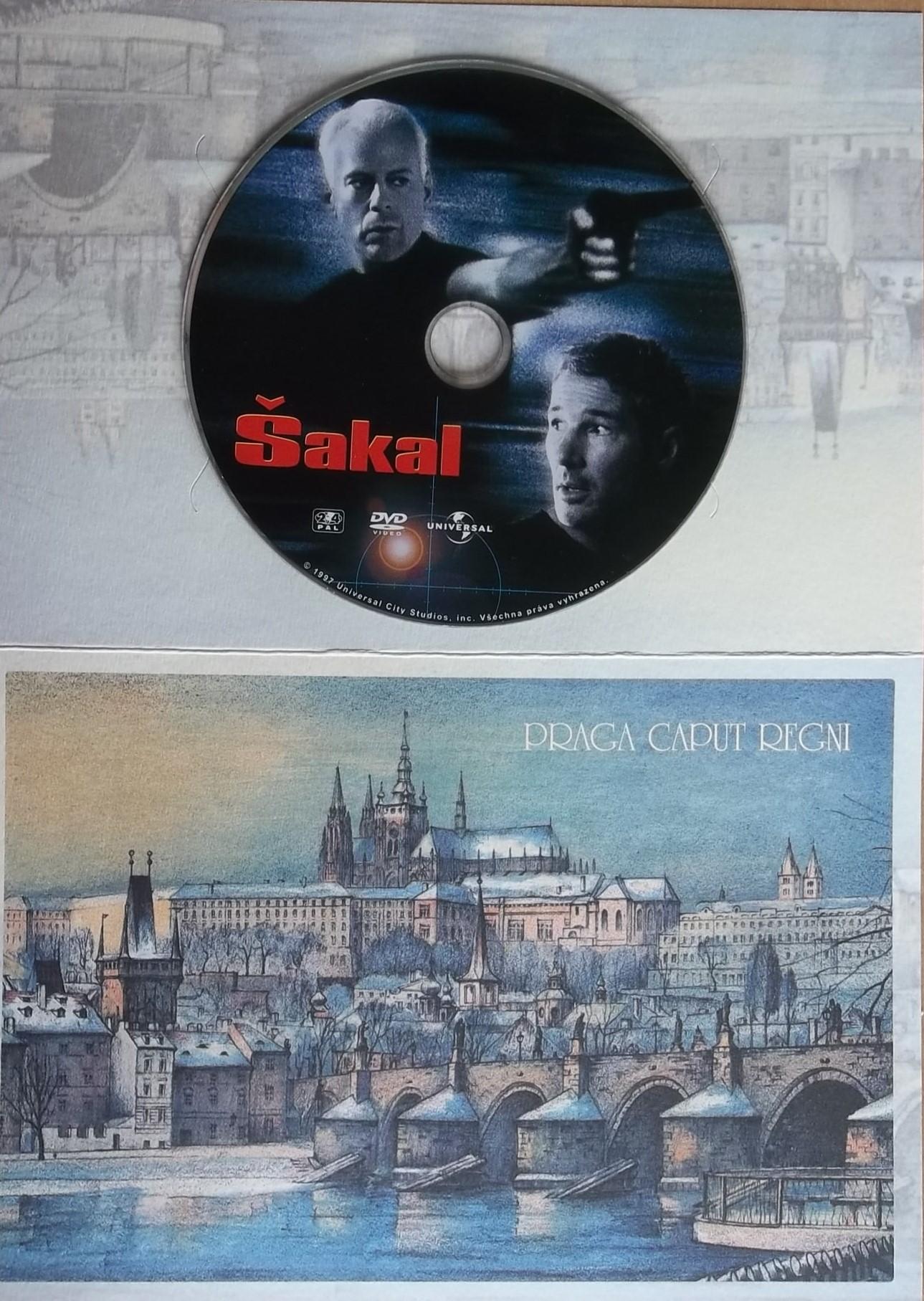 Šakal (dárková obálka) DVD