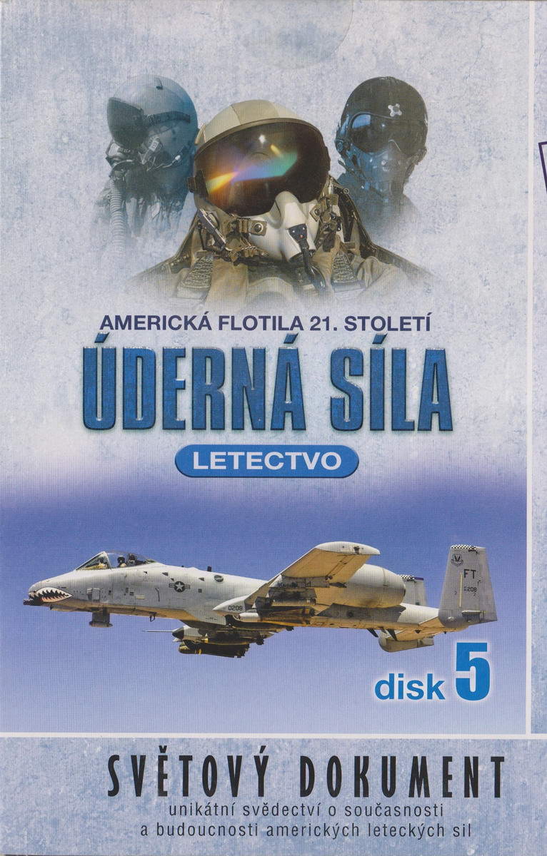 Úderná síla - Letectvo - disk 5 - DVD