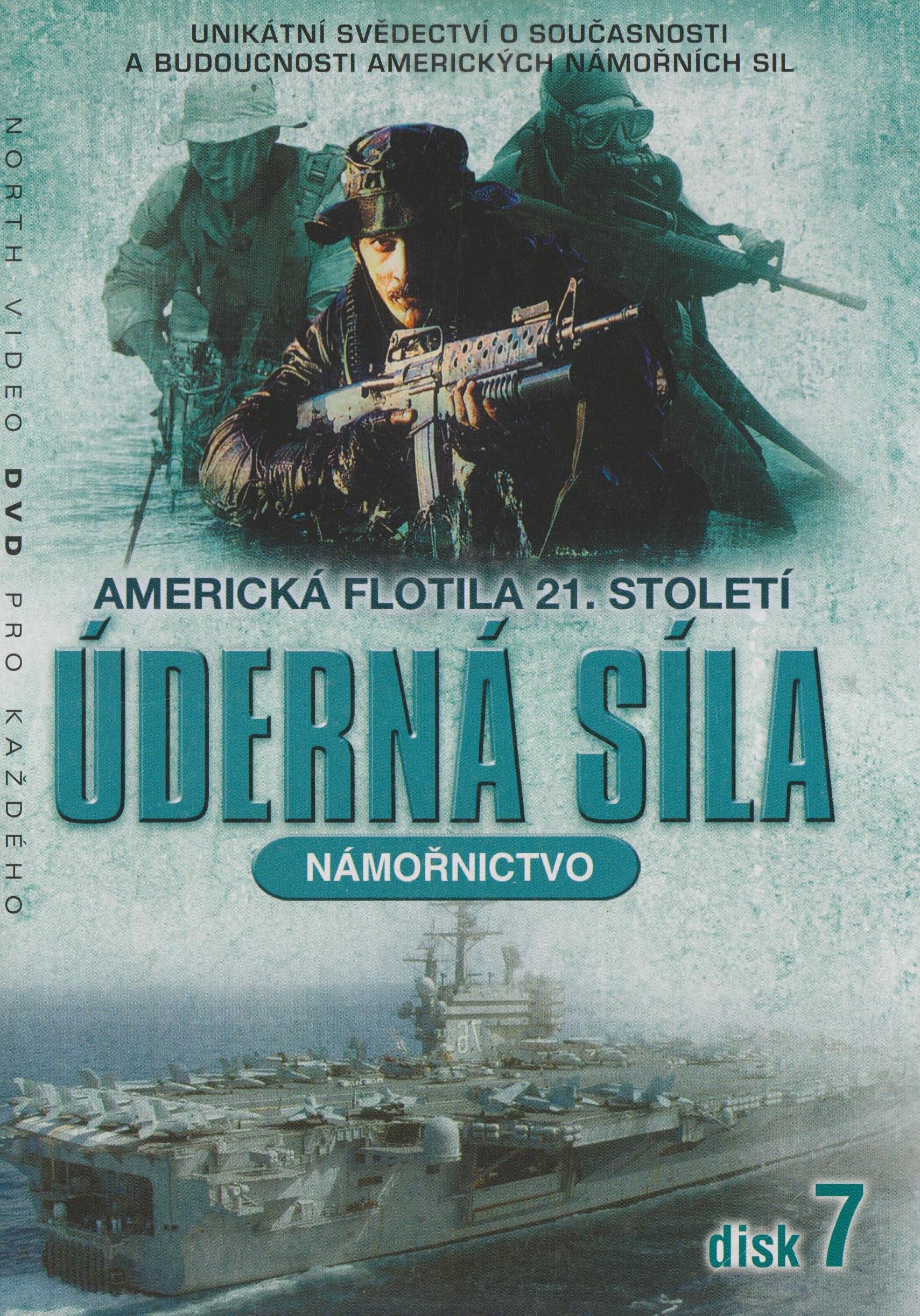 Úderná síla - Námořnictvo - disk 7 - DVD