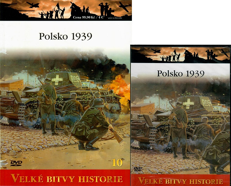 Velké bitvy historie 10 - Polsko 1939 - DVD