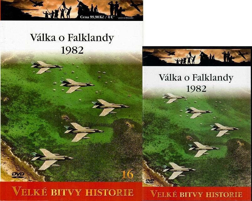 Velké bitvy historie 16 - Válka o Falklandy 1982  (Časopis + DVD )