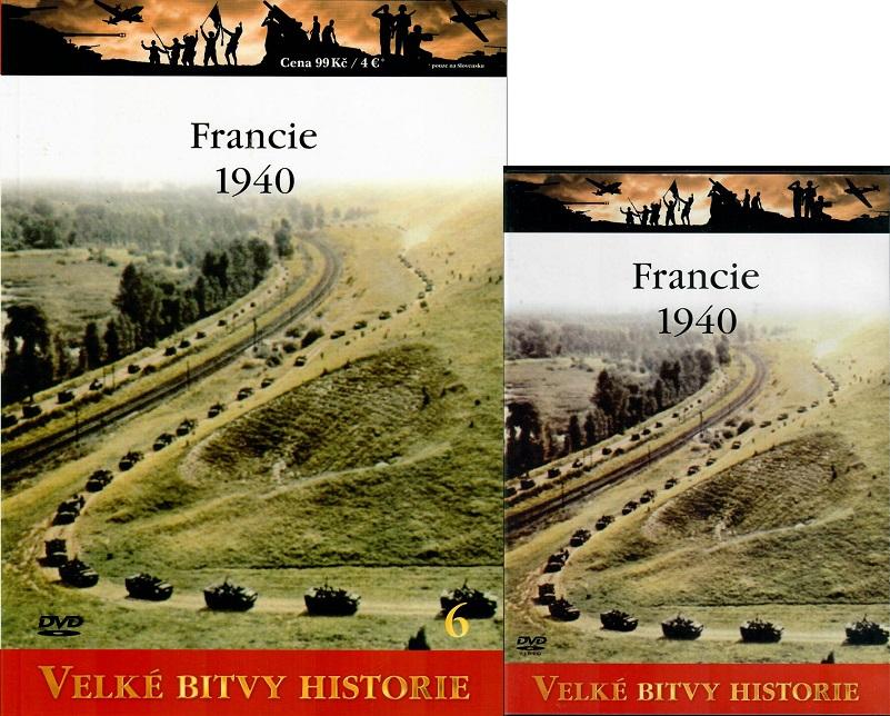 Velké bitvy historie 6 - Francie 1940  ( Časopis + DVD )