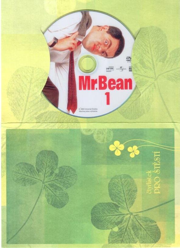 Mr. Bean 1 - DVD - dárková obálka