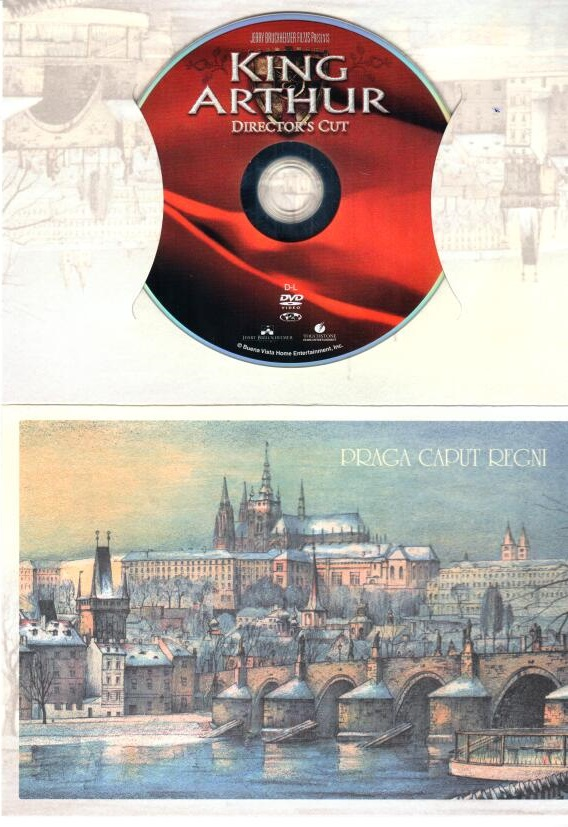 Král Artuš - DVD - dárkový obal