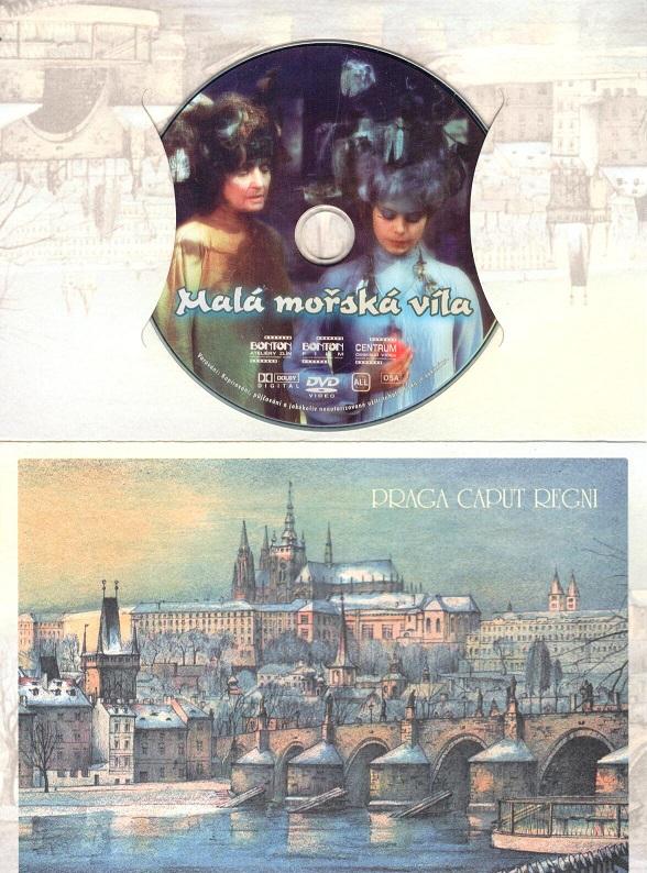 Malá mořská víla (Miroslava Šafránková) - dárkový obal DVD