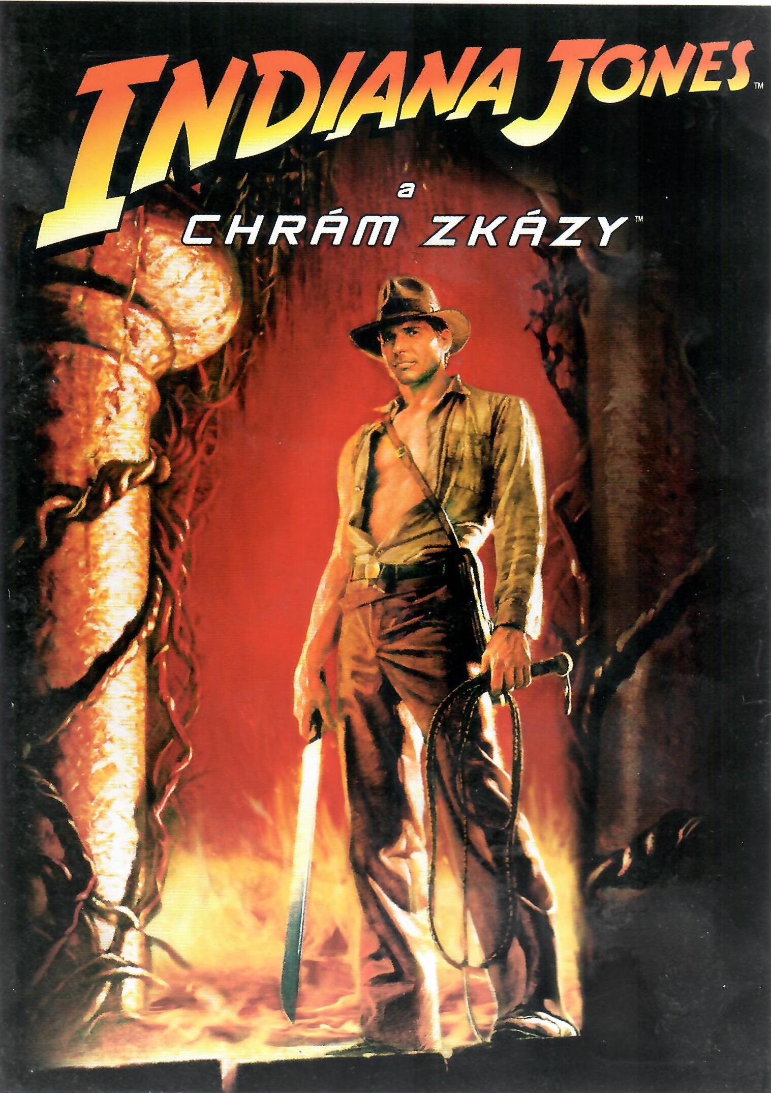 Indiana Jones - Chrám zkázy - DVD