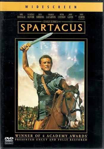 Spartakus - Kirk Douglas - DVD ( v původním znění s CZ titulky ) plast DVD
