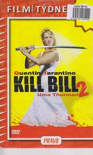 Kill Bill 2 ( pošetka ) - DVD
