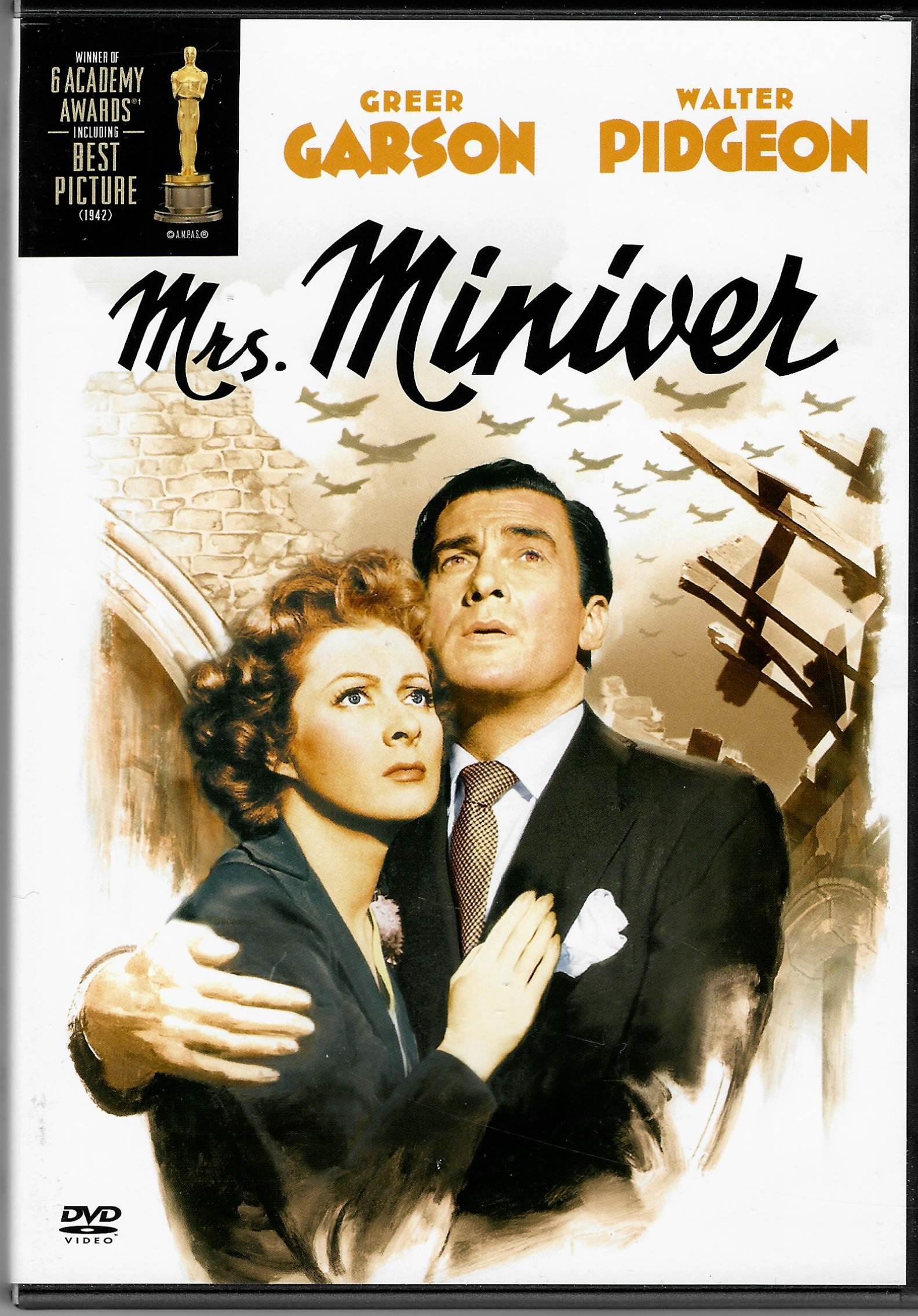 Mrs. Miniver (Paní Miniverová) - DVD plast