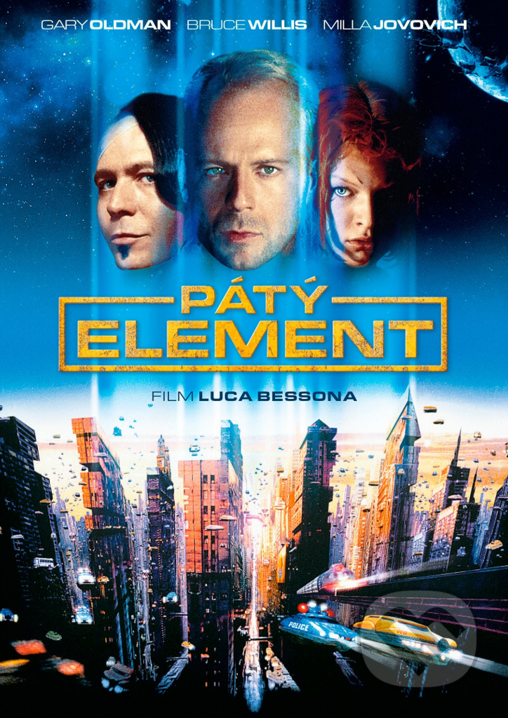 Pátý element - DVD plast