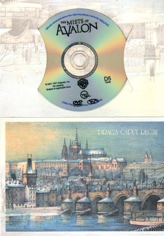 Mlhy Avalonu - DVD dárková obálka