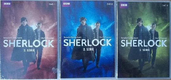 Kolekce Sherlock 2.série 3DVD