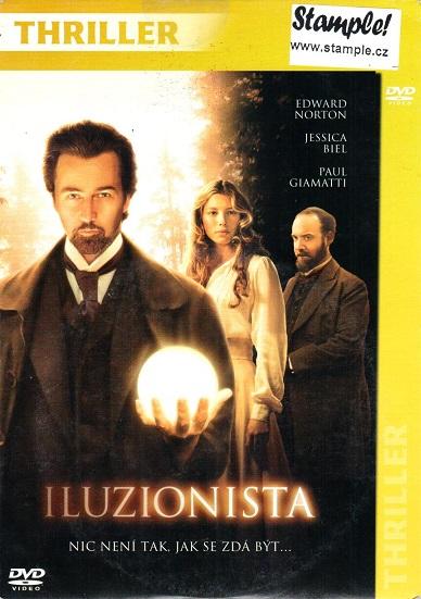 Iluzionista ( papírový obal ) - DVD