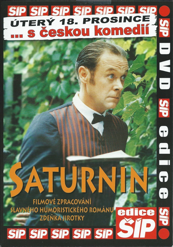 Saturnin -poš. - DVD