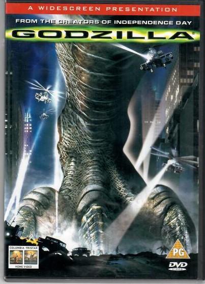 Godzilla - DVD (originální znění s CZ titulky)