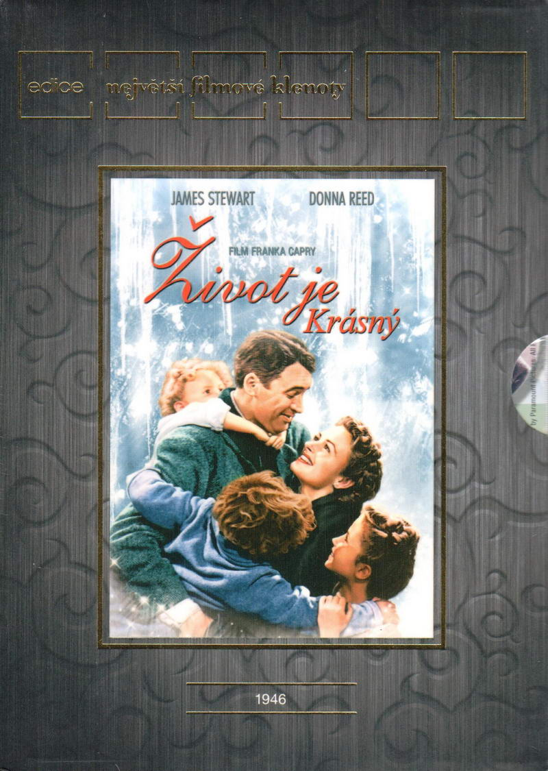 Život je krásný (Největší filmové klenoty) - English, French - DVD