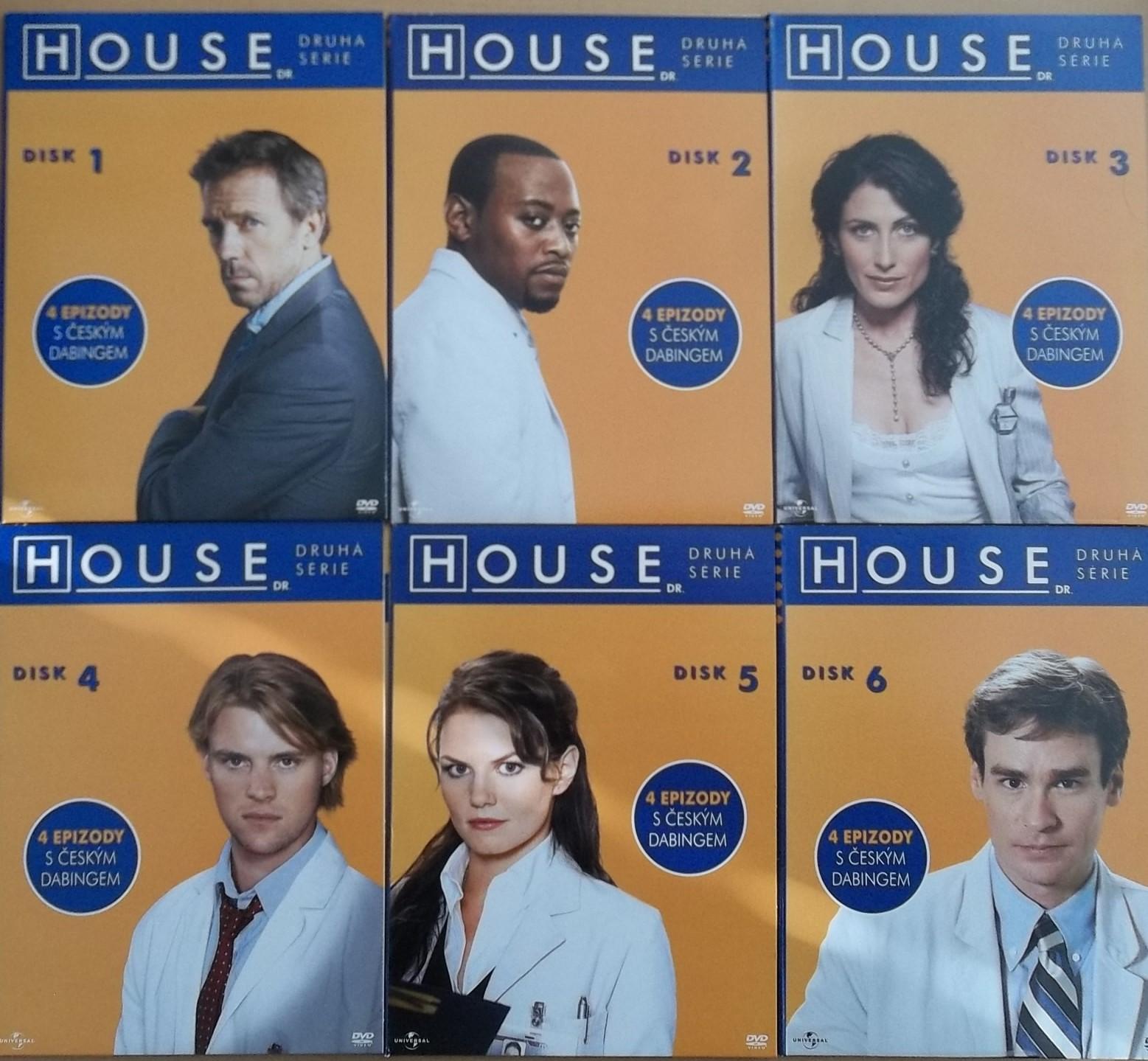 Dr. House - kompletní 2 série - DVD