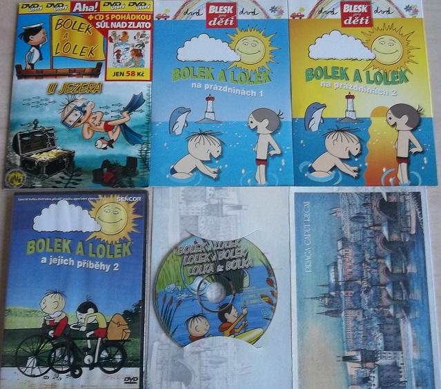 Kolekce Bolek a Lolek 5 DVD