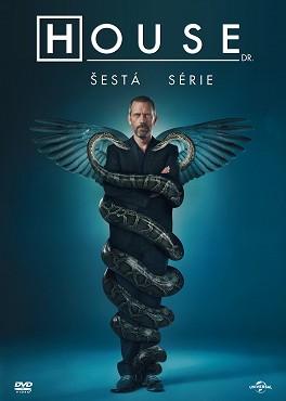 Dr. House - kompletní 06. série - DVD