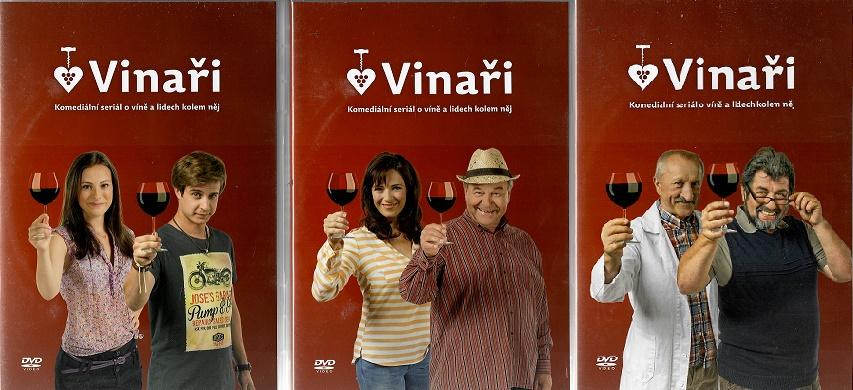 Vinaři - kompletní první série 6 DVD