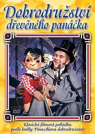 Dobrodružství dřevěného panáčka - DVD (bazarové zboží)