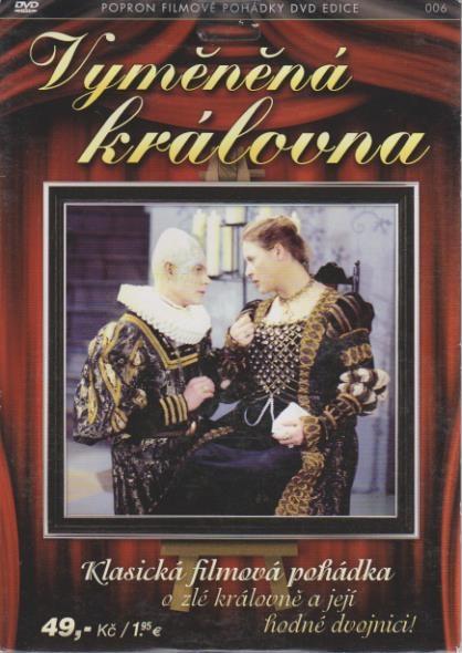 Vyměněná královna - DVD plast