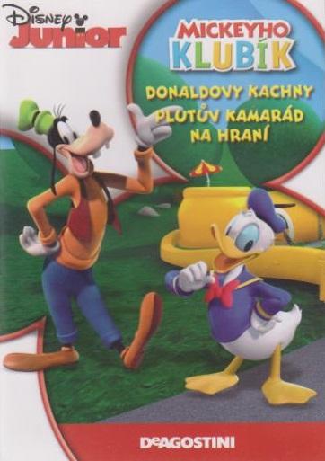 Mickeyho Klubík: Donaldovy Kachny, Plutův kamarád na hraní - DVD