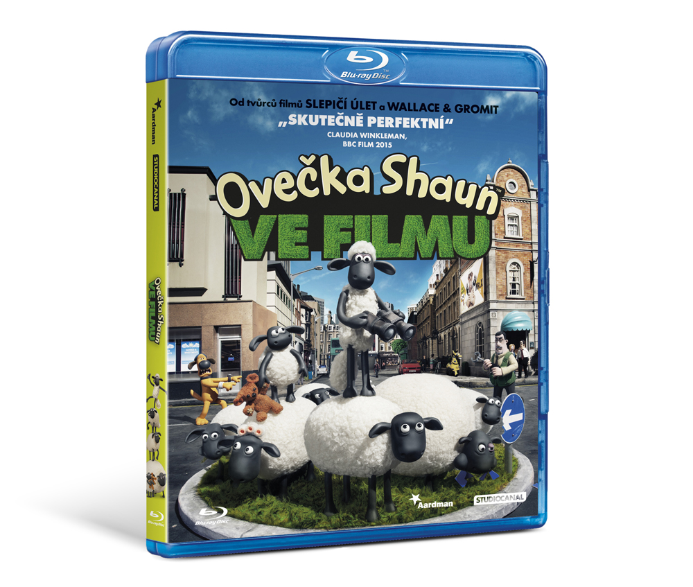Ovečka Shaun Ve filmu ( Blu-ray)
