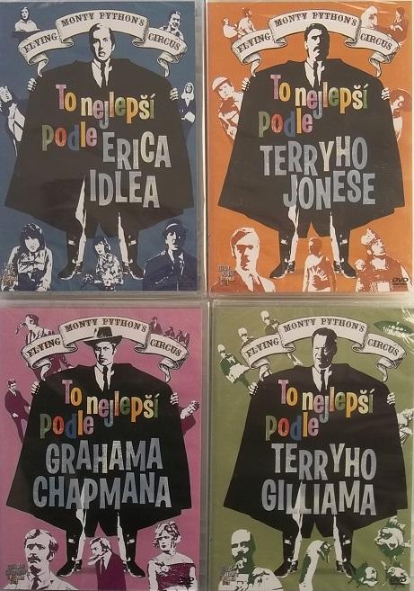 Kolekce Monty Python: To nejlepší podle.. (4DVD) - české titulky - DVD