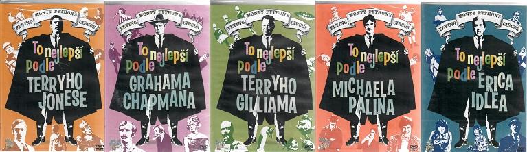 Kolekce Monty Python: To nejlepší podle.. (5DVD) - české titulky - DVD