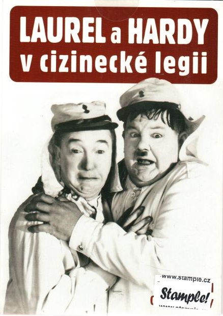 Laurel a Hardy v cizinecké legii - DVD pošetka