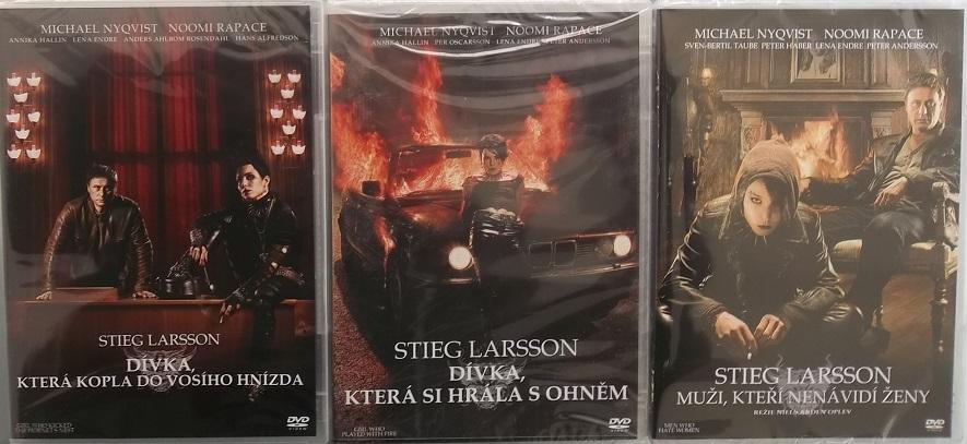 Kolekce Milénium 3x DVD - DVD