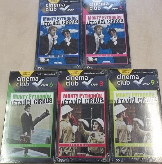 Kolekce Monty Pythonův létající cirkus 5x DVD
