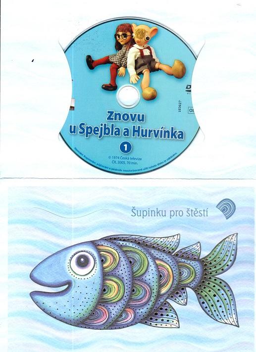 60 večerníčků - 26 - Znovu u Spejbla a Hurvínka 1 ( dárkový obal ) DVD