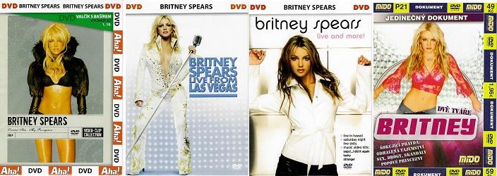 Kolekce Britney Spears (4xDVD pošetky )