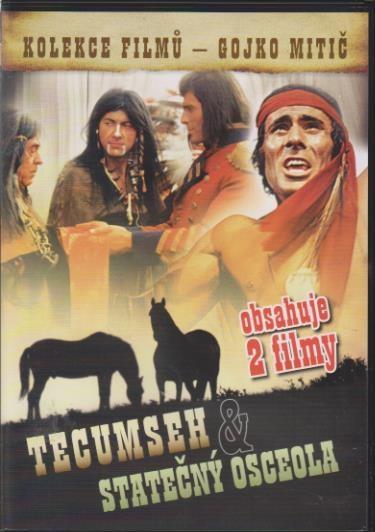Tecumseh & Statečný osceola (kolekce filmů Gojko Mitič) - DVD