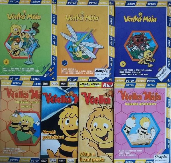 Kolekce Včelka Mája - DVD