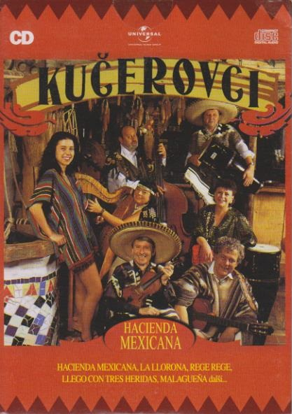 Kučerovci-Hacienda Mexicana-CD
