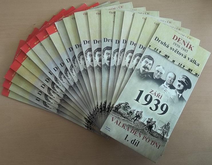 Kolekce Deník druhá světová válka 19 DVD ( nekompletní mix dílů)