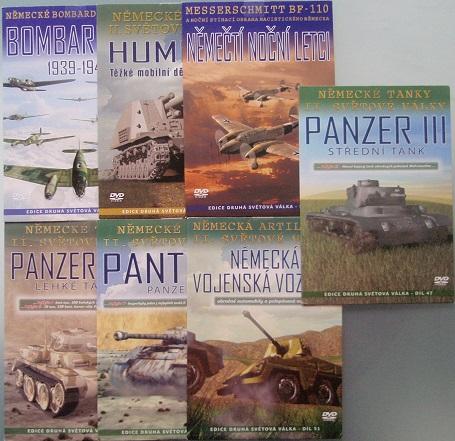 Edice Druhá světová válka Tanky a letadla - 7DVD
