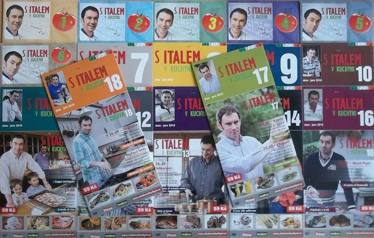Kolekce s Italem v kuchyni KOMPLETNÍ - 18DVD