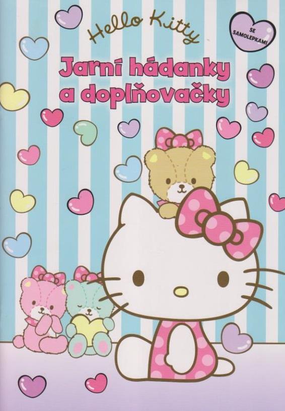 Hello Kitty - Jarní hádanky a doplňovačky