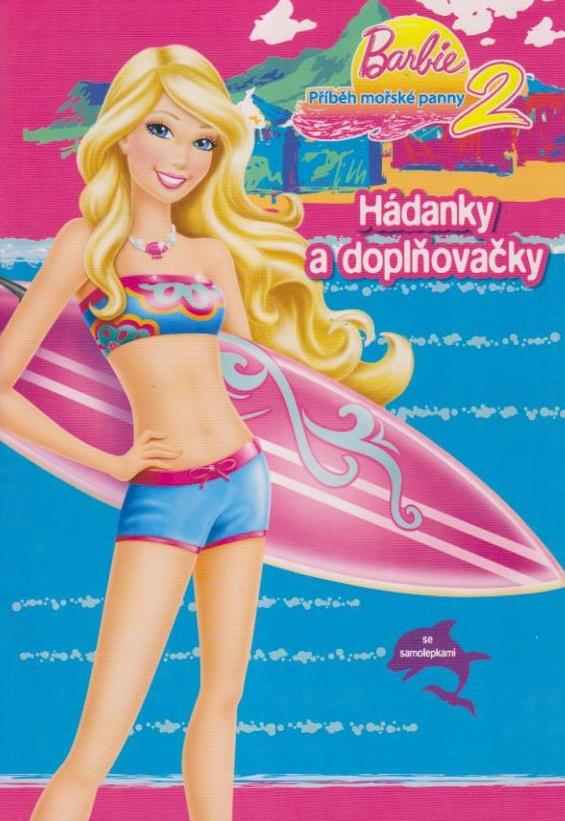 Barbie Příběh mořské panny 2 - Hádanky a doplňovačky
