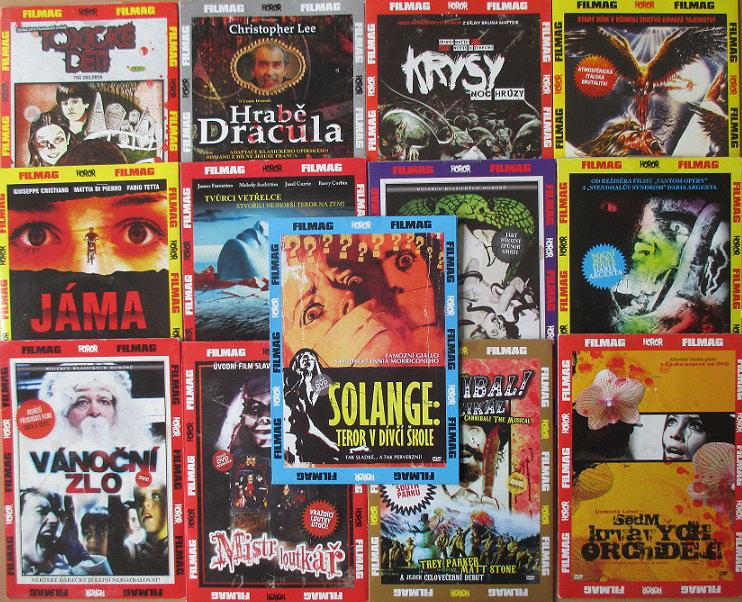 Kolekce horory 2. - 13 DVD