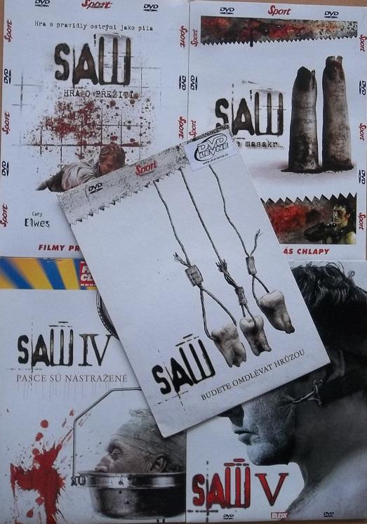 Kolekce Saw - 6 DVD