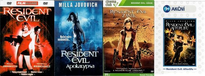 Kolekce Resident Evil - 4DVD