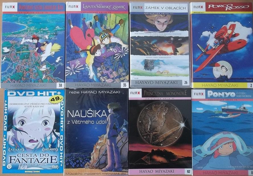Kolekce Hayao Miyazaki - 8DVD